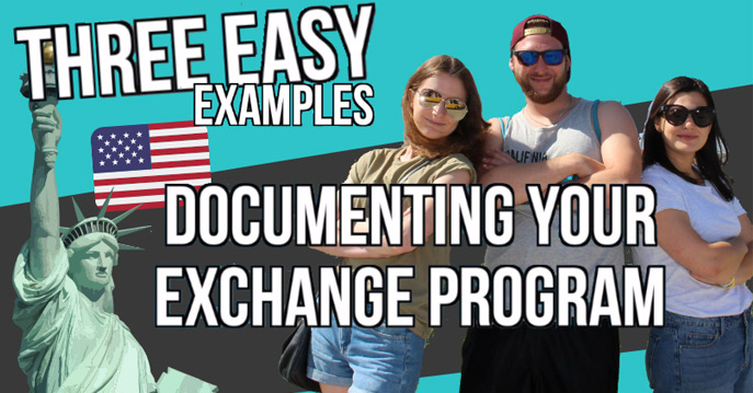 3 Easy Video Styles to Document Your Cultural Exchange!