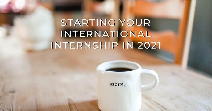 Start Your International Internship this year!